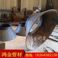 【鴻金】供應碳化鉻堆焊優質合金板 10+6碳化鉻復合耐磨鋼板 規格齊全圖片