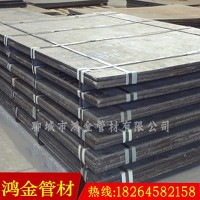 【鴻金】供應高鉻合金襯板 耐磨復合襯板 堆焊耐磨板廠家圖片