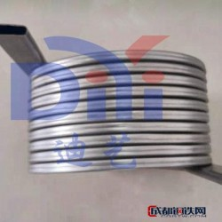 上海迪艺不锈钢扁盘管  盘管厂家图片