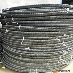塑料波纹管 扁管塑料波纹管 预应力塑料波纹管扁管图片