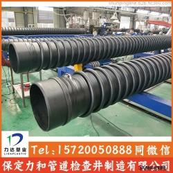 b型缠绕管 b型结构管 也叫克拉管 保定力和管道生产制造图片