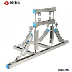 抗震支架 托臂配件 管廊抗震支架 長期供應 批發圖片