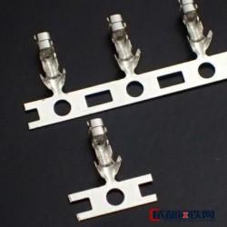 鼎騰發 出售原廠JST接插件2.5mm間距線對板XH系列通用黃銅鍍錫端子SXH-001T-0.6圖片