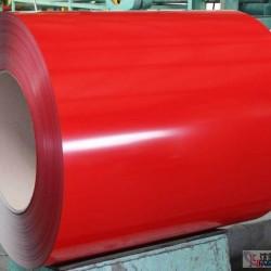 038厚度彩涂卷批發購買038mm彩涂卷就找河北藍天彩板廠彩涂鋼卷廠家圖片