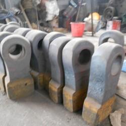 永霖高质量锤式破碎机配件耐磨锤头/高锰钢锤头/高咯合金锤头图片