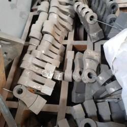 厂家直供耐磨合金锤头  高锰钢锤头 高铬锤头 锤破机锤头耐磨锤头图片