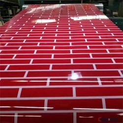 彩涂板彩钢瓦屋顶 屋顶彩涂板压型钢板 彩涂板厂家现货供应
