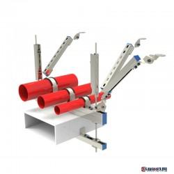 晨翔  抗震支架 生產抗震支架 抗震支架 各種配件 抗震配件 綜合管廊 成品支架 支架安裝圖片