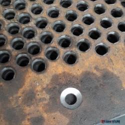 锰钢冲孔板 重型数控冲孔钢板 高锰钢冲压多孔板 打散机筛板加工