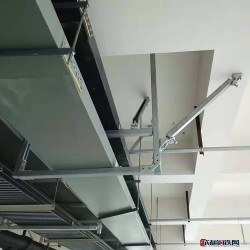 【廊坊高隆金屬制品有限公司】 抗震支架  管廊支架 橋架支架圖片