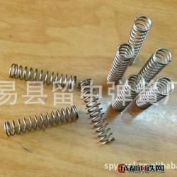 易縣留中 不銹鋼渦卷壓縮彈簧 機械五金壓縮彈簧廠 定制加工 壓縮彈簧 冷卷彈簧圖片