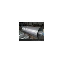 山東鍍鋅波紋鋼管施工  螺旋波紋涵管  鋼結構管廊排水圖片
