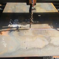 抚顺高锰钢20Mn按图纸下料切割