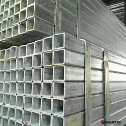 鍍鋅方矩管 大口徑鋼梁結構管 矩形鋼管 多規格 方管批發圖片