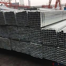 优质现货镀锌方管 大口径钢梁结构管 矩形钢管 多规格图片