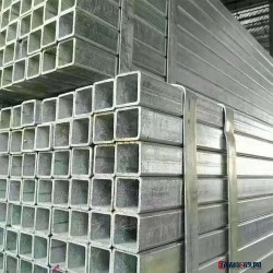鍍鋅方矩管 大口徑鋼梁結構管 矩形鋼管 多規格圖片