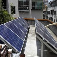 通辽市100W太阳能电池板 2000W家用太阳能发电机