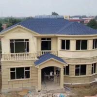 轻钢别墅,绿色建筑,保护环境,共享蓝天图片