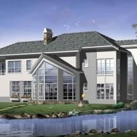 轻钢别墅,拎包入住,节能环保,建设快图片