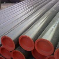 成都45#无缝钢管 精密无缝钢管 结构管 机械加工用钢管 45号结构管图片