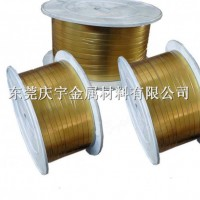 黄铜扁线生产厂家,H62H63H65黄铜扁线今日报价图片