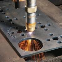 成都鋼板加工廠批發加工鋼板 切割 卷圓 沖孔 折彎 來圖定做 按圖加工圖片