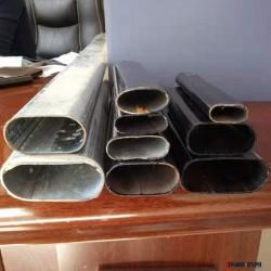 天宇通 鍍鋅橢圓管 橢圓管平橢圓管扁圓管 鍍鋅橢圓管 熱鍍鋅橢圓管圖片