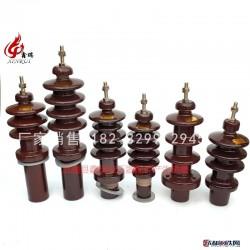 鑫瑞BJLW-1/315 油浸式变压器配件绝缘瓷套管 高压低压高强度绝缘瓷瓶套管图片