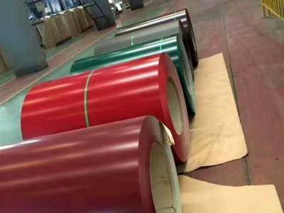 彩涂卷 镀铝锌彩涂板 彩钢板 彩涂压瓦彩涂板 现货批发