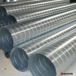 镀锌螺旋管_非标螺旋管_钢结构用螺旋管_保温螺旋管图片