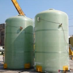 防腐蚀立式罐  玻璃钢化工储罐  高强度耐腐蚀玻璃钢罐   供应玻璃钢消防储罐图片