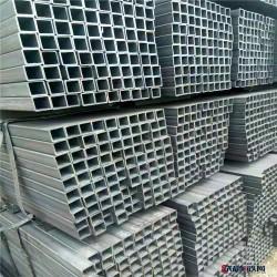 镀锌矩形管_热镀锌矩形管_无缝矩形方管_钢结构专用管图片