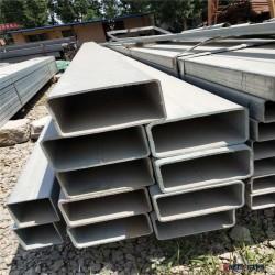 雷旺 20 镀锌焊接矩形管  热浸镀锌方矩形管10-500热镀锌方管图片