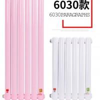 钢制二柱型暖气片 6030 长春大维暖气片厂家图片