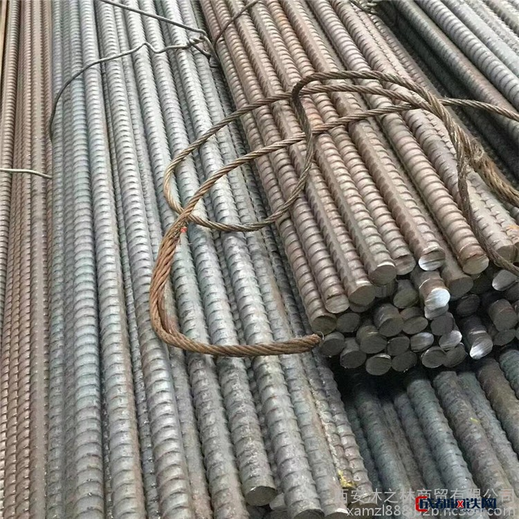 天水螺纹钢行情材质hrb500e四级钢批发盘螺高线调直切断加工