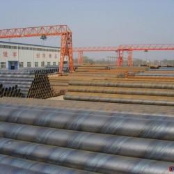 镀锌螺旋管 235螺旋管 PVC螺旋管 保温螺旋管道 HDPE螺旋管图片