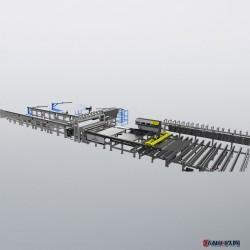 【永益同丰】ZGKW-3300智能钢筋开孔网焊接生产线 新型钢筋焊网生产线图片