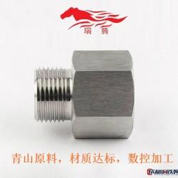 不锈钢内外丝 4分/6分/1寸内外丝接头一可供冷镦毛坯图片