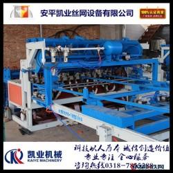 凱業機械 雞籠網底網焊網機  雞籠網片生產線 雞籠網排焊機 雞籠網底網焊網機圖片