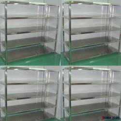 5层不锈钢层板式货架 全部不锈钢材料焊接成型货架 价格