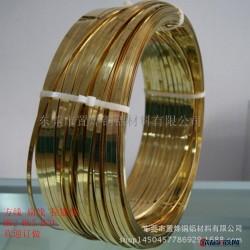 特硬弹簧用铜线批发 C2680黄铜全硬线 0.4黄铜片 H65软铜线图片