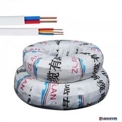 浙缆厂家BVVB22.5平方护套线国标纯铜足米家装明装硬线 bvvb护套线图片