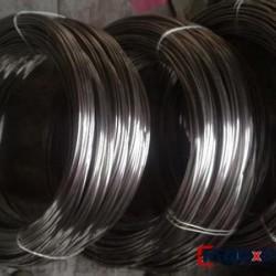 厂家直销304不锈钢中硬线 316不锈钢光亮电解线 不锈钢压扁线图片
