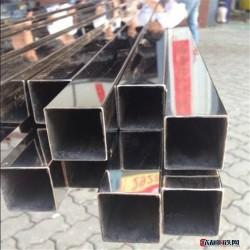 利順 304不銹鋼方管優質供應 304不銹鋼方管 建筑裝飾管 拋光不銹鋼焊管 現貨圖片