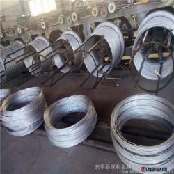 联利14镀锌铁线 废品打包丝 建筑绑线 焊网铁丝报价图片