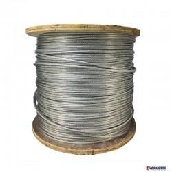 屹固钢绳索具不锈钢厂家批发 优质不锈钢钢丝绳 不锈钢线材包塑钢丝绳图片