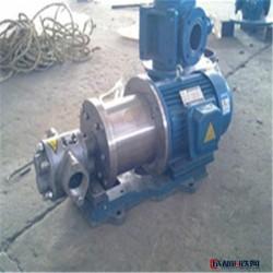 永盛 YCB不锈钢齿轮泵 耐腐蚀齿轮泵 不锈钢齿轮泵 齿轮泵厂家图片
