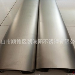 304不銹鋼雙槽方管 不銹鋼方扶手管 樓梯扶手用管圖片