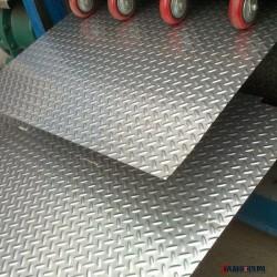 廠家直銷 鍍鋅花紋板 供應花紋板 花紋卷板 熱鍍鋅花紋板 熱鍍鋅花紋卷板 鍍鋅防滑板圖片