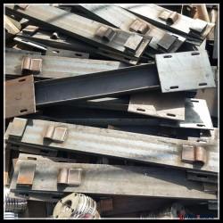 60轨道地铁隧道CGTG轨道弹力钢枕紧固件装置 定做弹力扣件配套钢枕 弹条压板永年铁标轨道配件厂 弹力扣板图片